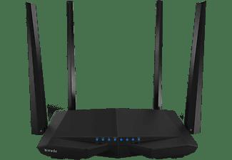 Router inalámbrico - Tenda AC6 1167 Mbit/s, 4 antenas, 2.4 GHz, 4 puertos LAN, Negro