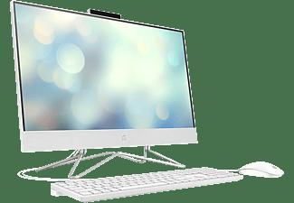 "All in one - HP 24-df0053ns, 23.8"" Full-HD, Intel® Celeron® J4025, 8 GB, 256 GB SSD, FreeDOS, Blanco"