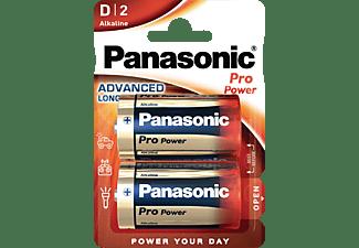 PANASONIC 00215999 LR20PPG/2BP D Batterie, Alkaline, 1.5 Volt