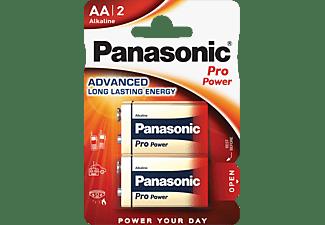 PANASONIC 00245970 6LR61PPG/2BP 9 Volt Batterie, Alkaline, 9 Volt