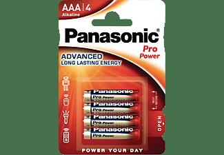 PANASONIC 00265999 LR03PPG/4BP AAA Micro Batterie, Alkaline, 1.5 Volt