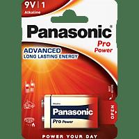 PANASONIC 00245998 6LF22PPG/1BP 9 Volt Batterie, Alkaline, 9 Volt
