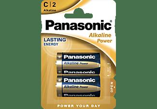 PANASONIC 00221999 LR14APB/2BP C Batterie, Alkaline, 1.5 Volt