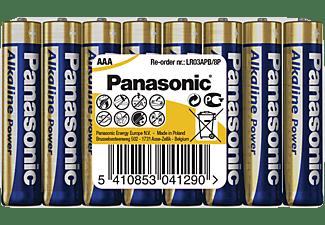 PANASONIC LR03APB/8P AAA Micro Batterie, Alkaline