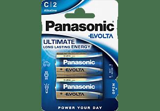 PANASONIC LR14EGE/2BP C Batterie, Alkaline, 1.5 Volt