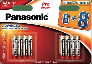 PANASONIC LR03PPG/8BW AAA Micro Batterie, Alkaline