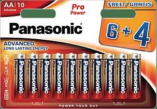 PANASONIC LR6PPG/10BW AA (Mignon) Batterie, Alkaline, 1.5 Volt