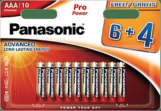 PANASONIC LR03PPG/10BW AAA (Micro) Batterie, Alkaline, 1.5 Volt