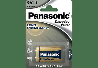 PANASONIC 6LF22EPS/1BP 9 Volt Batterie, Alkaline, 9 Volt 1 Stück