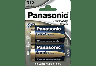 PANASONIC LR20EPS/2BP D Batterie, Alkaline, 1.5 Volt