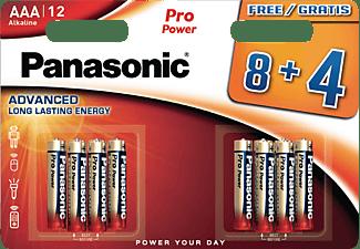 PANASONIC LR03PPG AAA Micro Batterie, Alkaline, 1.5 Volt