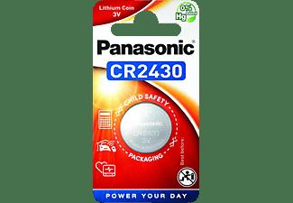 PANASONIC 2B390597 CR2430/1 BP CR2430 Knopfzelle, Li-Ion, 3 Volt