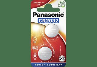PANASONIC 2B380571 CR2032L/2BP CR2032 Knopfzelle, Li-Ion, 3 Volt