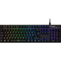 HYPERX Alloy FPS RGB Speed Silver, Gaming Tastatur, Mechanisch