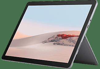 MICROSOFT Surface Go 2, Convertible mit 10,5 Zoll Display, Core™ m3 Prozessor, 8 GB RAM, 128 GB SSD, Intel UHD Grafik 615, Platin
