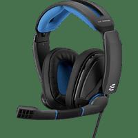 EPOS SENNHEISER GSP 300 , Over-ear Gaming Headset Schwarz/Blau