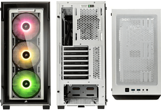 CORSAIR 220T RGB Airflow PC-Gehäuse, Weiß