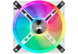 CORSAIR iCUE QL120 RGB Gehäuselüfter, Weiß