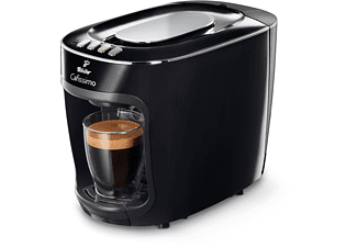 TCHIBO CAFISSIMO mini + 30 Kapseln (Espresso und Caffè Crema) Kapselmaschine Schwarz