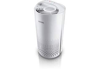 KOENIC KAP 2521 Luftreiniger Weiß (40 Watt, Raumgröße: 25 m², HEPA H13 + Kohlefilter)