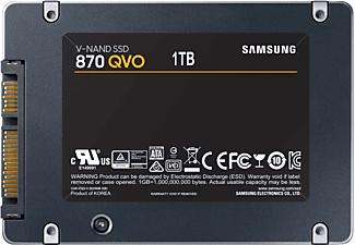 SAMSUNG SATA SSD 870 QVO, 1 TB, SSD, 2,5 Zoll, intern