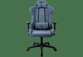 AROZZI Gaming Sessel Torretta Soft Fabric, Blau (TORRETTA-SFB-BL)