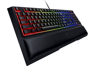 RAZER Gaming Tastatur Ornata V2, USB, DE, Schwarz (RZ03-03380400-R3G1)