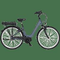FISCHER CITA 2.0-S1 Citybike (28 Zoll, Rahmenhöhe: 28 Zoll, Unisex-Rad, 317 Wh, Petrol matt)