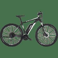 FISCHER EM 1724-S2 Mountainbike (29 Zoll, Rahmenhöhe: 29 Zoll, Unisex-Rad, 422 Wh, Schwarz matt)