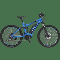 FISCHER EM 1862.1-S2 Mountainbike (27,5 Zoll, Rahmenhöhe: 27,5 Zoll, Unisex-Rad, 557 Wh, Blau matt)