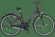 FISCHER CITA 3.1I-S1 Citybike (28 Zoll, 44 cm, 418 Wh, Schwarz matt)