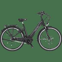 FISCHER CITA 3.1I-S1 Citybike (Laufradgröße: 28 Zoll, Unisex-Rad, 418 Wh, Schwarz matt)
