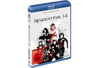 Resident Evil - 1-6 Blu-ray