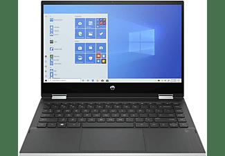 HP Pavilion x360 14-dw0355ng, Convertible mit 14 Zoll Display, Core™ i5 Prozessor, 16 GB RAM, 512 GB SSD, Intel® UHD Grafik, Silber
