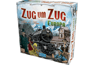 DAYS OF WONDER Zug um Zug Europa Gesellschaftsspiel Mehrfarbig