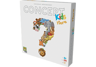 REPOS PRODUCTION Concept Kids - Tiere Gesellschaftsspiel Mehrfarbig