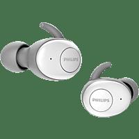 PHILIPS UpBeat SHB2515WT/10, In-ear True Wireless Kopfhörer  Bluetooth Weiß