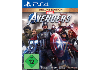 Marvel's Avengers Deluxe Edition (kostenloses Upgrade auf PS5) - [PlayStation 4]