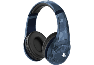 4GAMERS Stereo Camo Edition - Midnight, On-ear Gaming Headset Camouflage/Blau