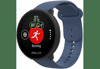 SportWatch - Polar Unite, Bluetooth, Resistente al agua, Modos deportivos, Control sueño, Notificaciones, Azul
