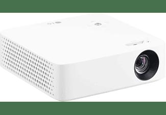 Proyector - LG PH30N, 250 lúmenes, HD, Bluetooth, Batería, Blanco