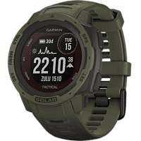 GARMIN Smartwatch Instinct Solar Tactical, Grün (010-02293-04)