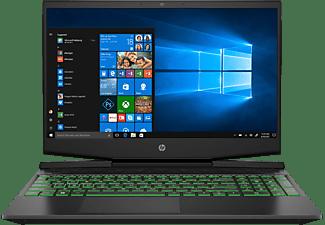 HP Pavilion 15-dk1325ng, Gaming Notebook mit 15,6 Zoll Display, Intel® Core™ i5 Prozessor, 8 GB RAM, 512 GB SSD, GeForce® GTX 1650, Schwarz