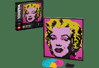 LEGO 31197 Marilyn Monroe Gemälde Bausatz, Mehrfarbig