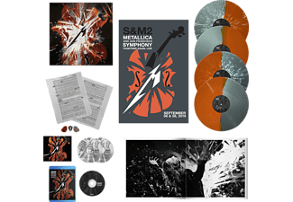 Metallica - S&M2 Deluxe-Box (4 Color LPs, BD & more) Limited Edition [Box set]