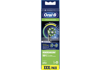 ORAL-B Aufsteckbürsten Cross Action CleanMaximizer 10er Schwarz
