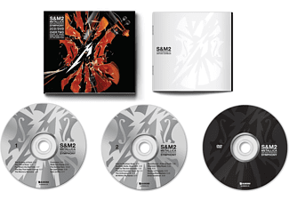 San Francisco Symphony Metallica - S&M2  - (DVD + CD)