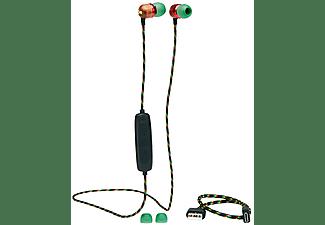 MARLEY Bluetooth Kopfhörer Smile Jamaica Wireless 2, In-Ear, rasta