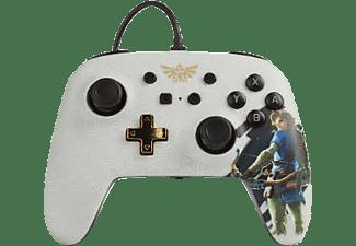 POWER A PowerA Erweiterter kabelgebundener Controller für Nintendo Switch - Link. Controller} Weiß