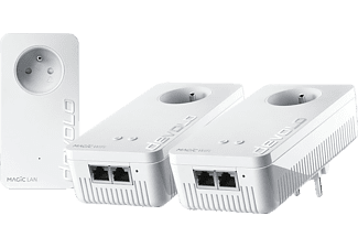 DEVOLO Powerline Magic 2 Next WiFi Multiroom Kit Blanc